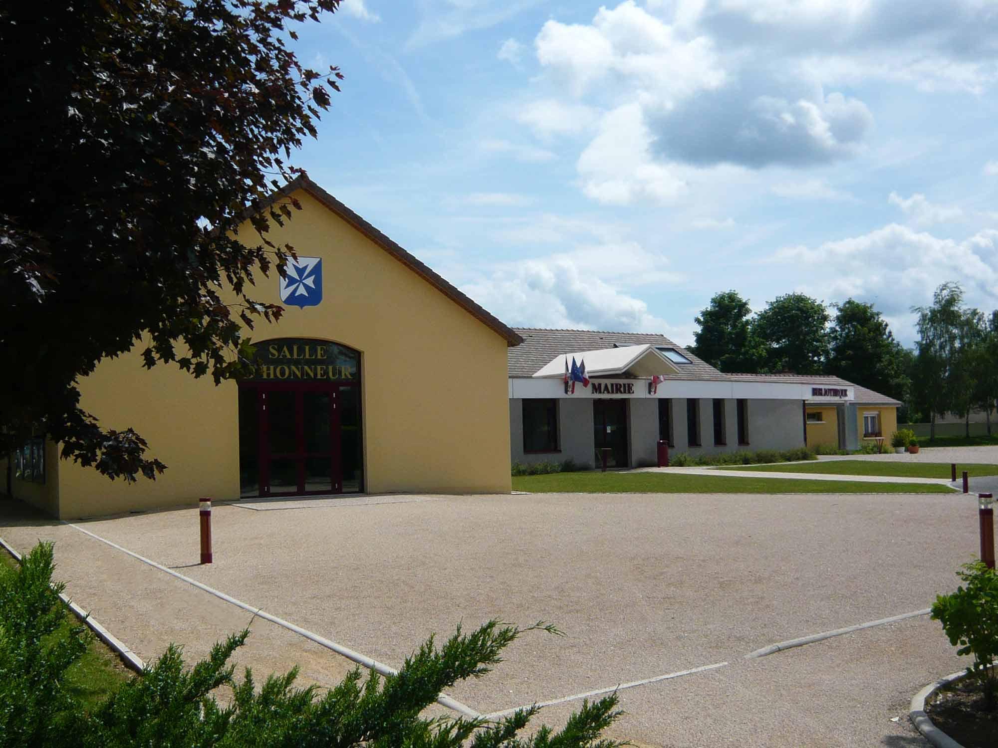 mairie et bibliothèque de crimolois